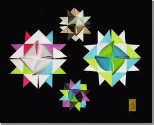 Folly With Froebel � An Origami Patchwork Star