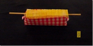 Origami �Corn on the Cob� and �Picnic Dish�