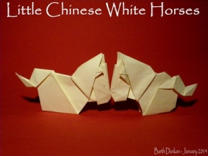 Little Chinese Horse by Barth Dunkan