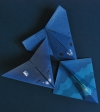Stealth Airplanes, from Simple Origami Airplanes Kit