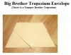 Big Brother Trapezium Envelope