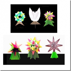 Origami Model Display Stands