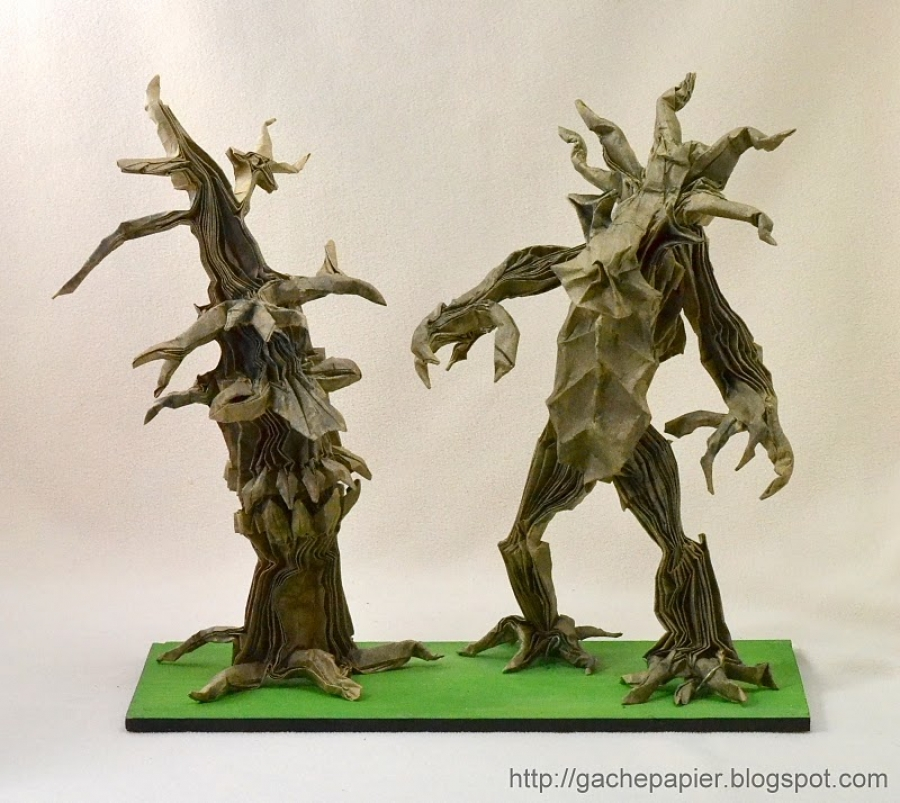 Treebeard and the Old Ent