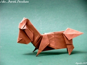 Little dog by Barth Dunkan