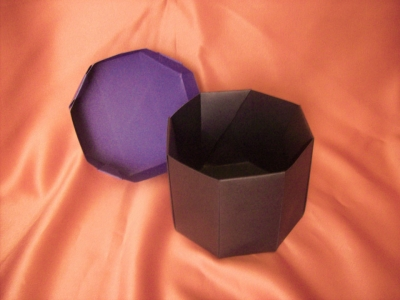 Eight sided box