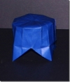 Circus Pedestal/Display Stand - Party Favor Origami Transformer