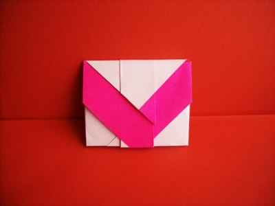 Two pocket envelope
