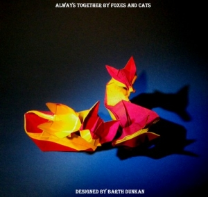 Always together by foxes and cats