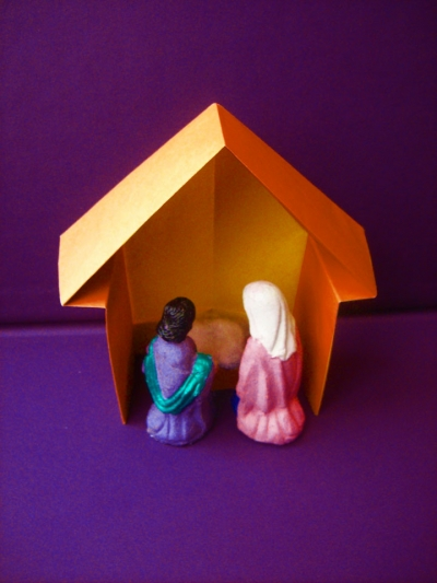 Establo para pesebre /  Nativity Stable