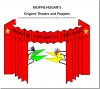 Muppie Hogan's Origami theatre and puppets