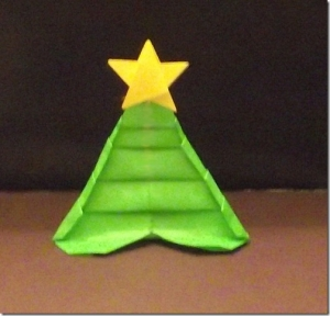 Christmas Tree or Heart? – An Origami Transformer